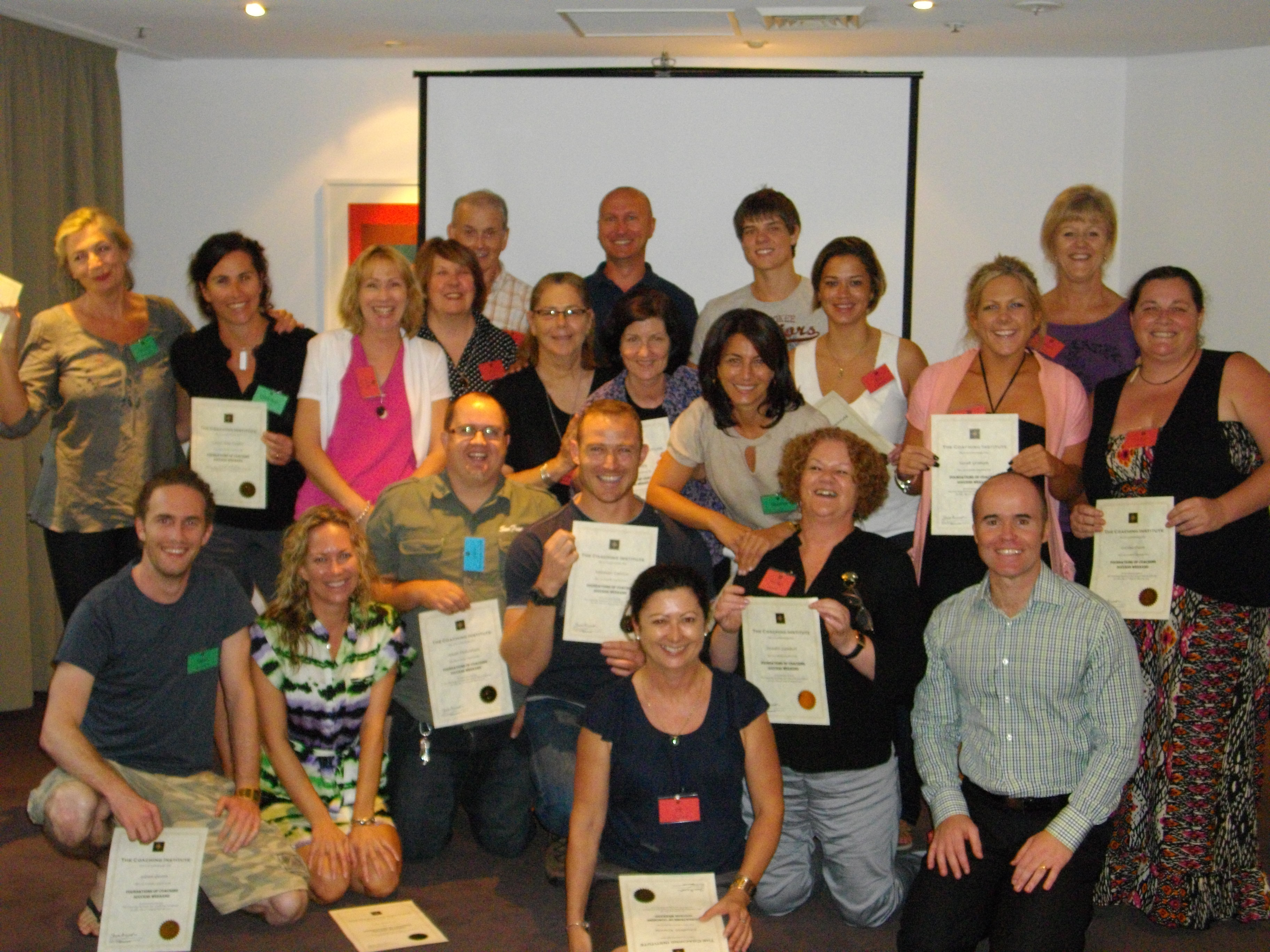 The Coaching Institute Intake - Sydney 11 March 2011